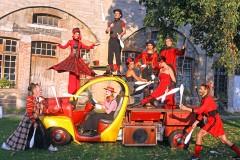 Spectacle deambulatoire - la parade du cirque