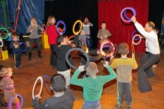 Initiation au cirque ecoles, representations d'initiation