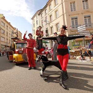 La Parade Du Cirque déambulation rue
